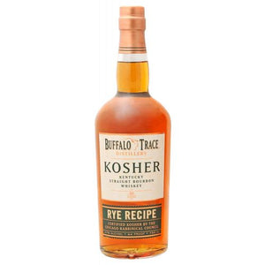 Buffalo Trace Rye Recipe Kosher 750ml