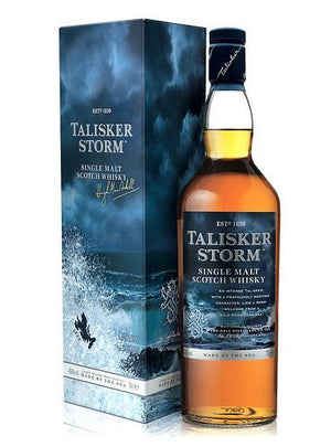 "Talisker Made by the Sea ""Storm"" Single Malt Scotch Whisky"