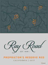 Ray Road Proprietor's Reserve Red California 2018