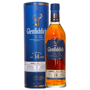 Glenfiddich Single Malt Scotch 14 yr Bourbon Barrel Reserve