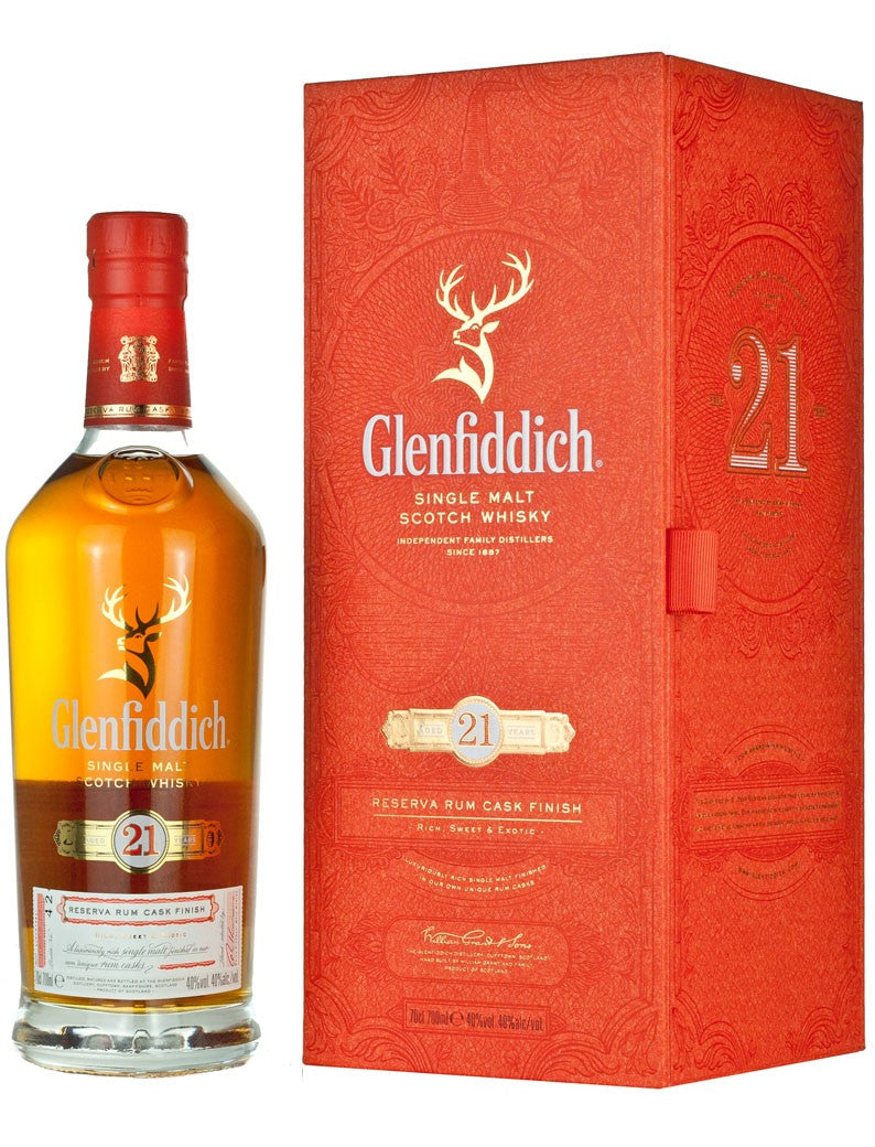 Glenfiddich Reserva Rum Cask Finish 21 Year Old