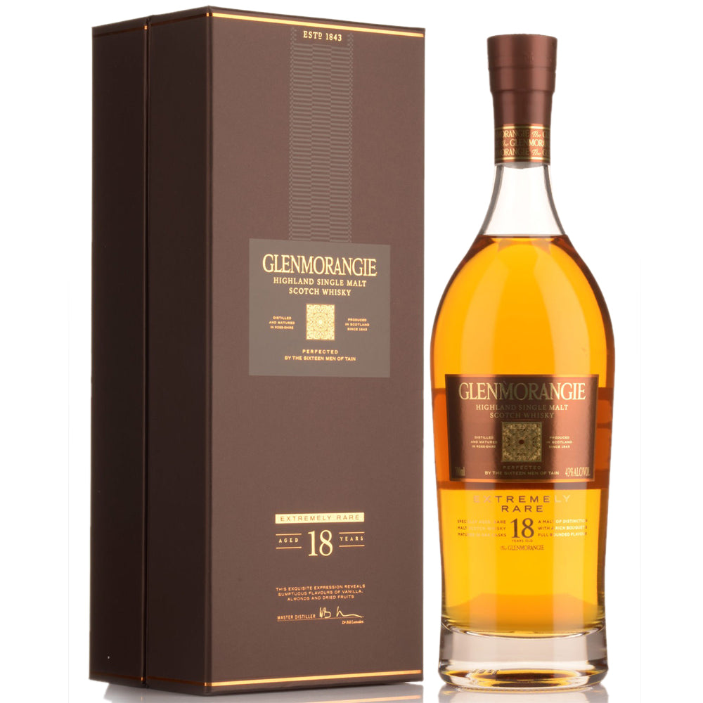 Glenmorangie 18 Year Old Extremely Rare Whisky