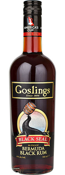 Gosling's Rum Black Seal 80 Proof 750ml