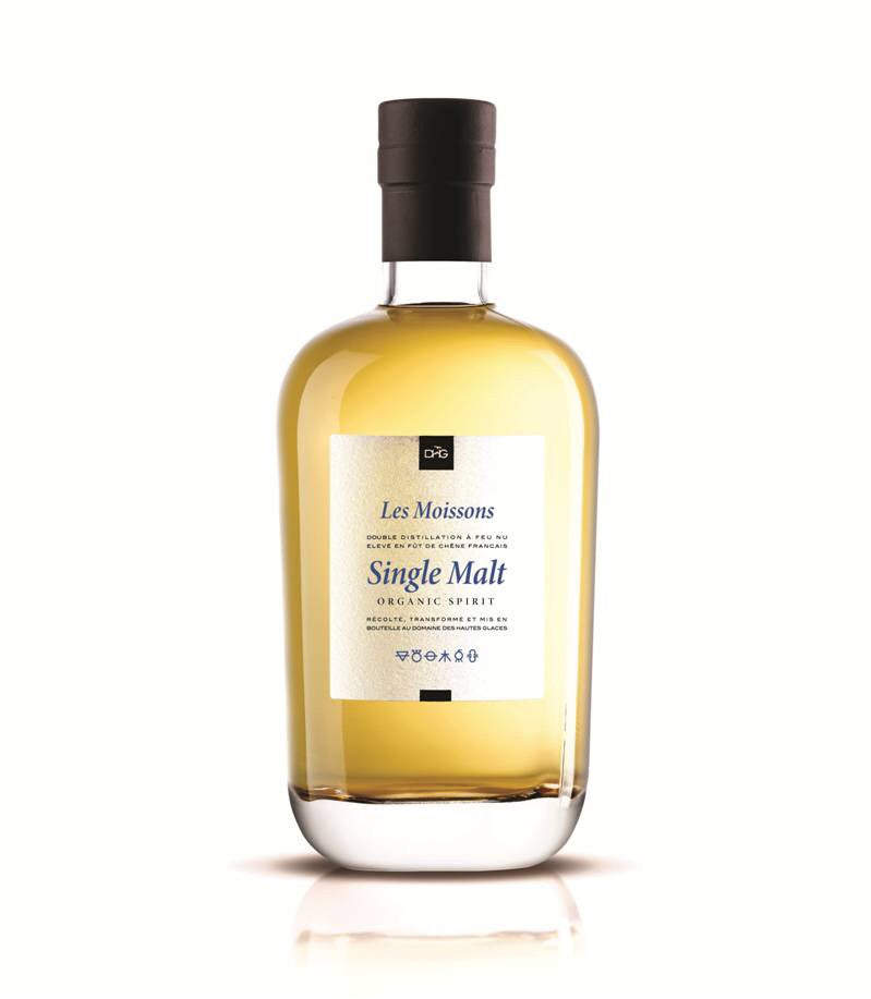 Les Moissons Single Malt Organic Whisky