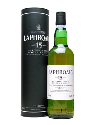 Laphroaig 15 yr Islay Single Malt Scotch Whisky