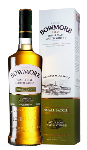 Bowmore Islay Single malt Bourbon Cask Matured Small Batch