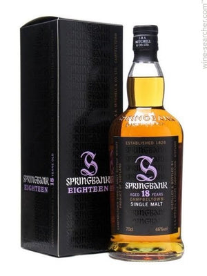 Springbank Cambeltown 18yr Single Malt Scotch