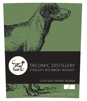 Taconic Distillery Straight Bourbon Whiskey (Dutchess Private Reserve)