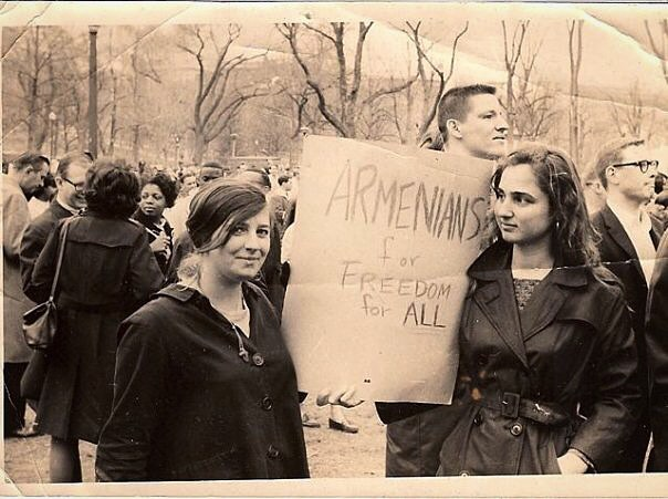 Armenians For Freedom For All: The Story Behind a Photo From a 1965 Martin Luther King Rally