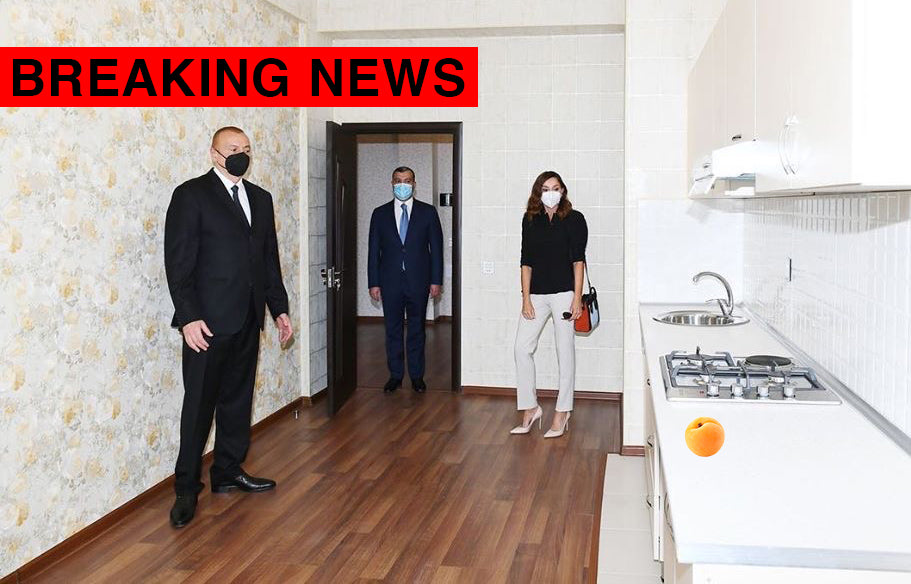 BREAKING: Azerbaijan President Discovers Armenian Apricot in His Kitchen