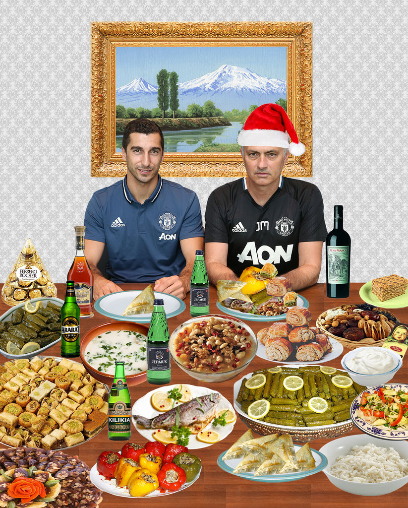 Exclusive: Jose Mourinho joins Henrikh Mkhitaryan for Armenian Christmas dinner