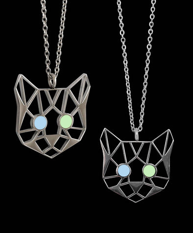 Van Cat Pendant Necklace