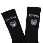Hayvan Embroidered Socks