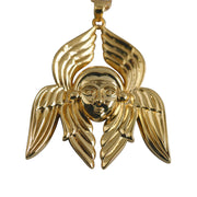 Angel Face 21K Gold Plated Necklace