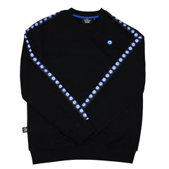 Evil Eye Taped Sleeve Sweater