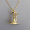 KEBABYLON - Gold Shisha/Hookah Necklace