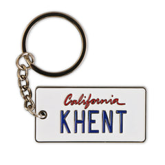 California Khent License plate key chain