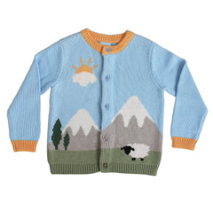 TODDLER Mount Ararat Knitted Button Cardigan
