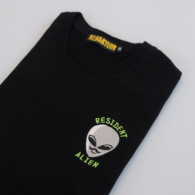 KEBABYLON / Resident Alien Embroidered T-Shirt - UNISEX
