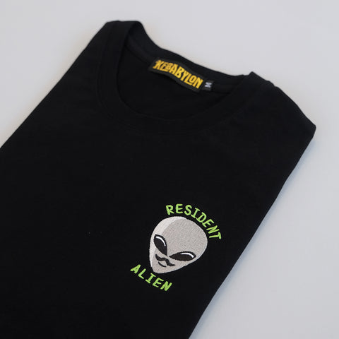 KEBABYLON / Resident Alien Embroidered T-Shirt