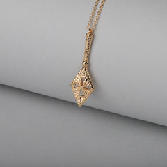 Spear of Destiny 21K Gold Plated Necklace