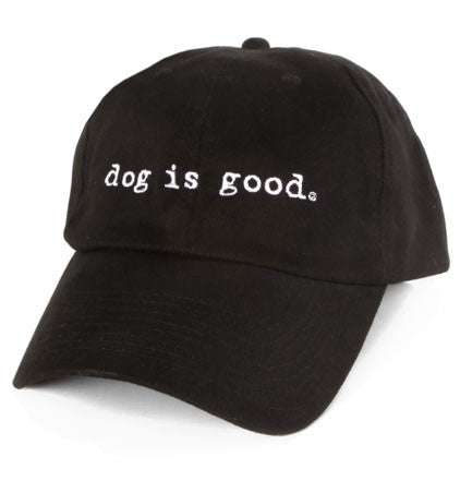 Gorra Dog is Good - Negro