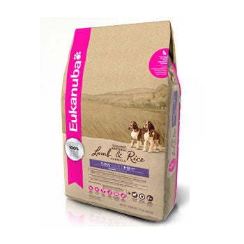 Eukanuba Puppy Natural Lamb & Rice