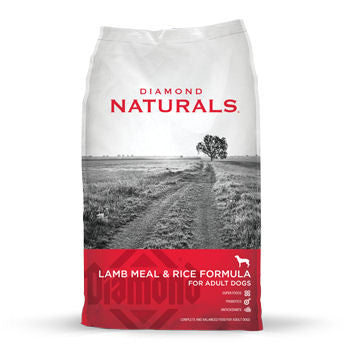 Diamond Naturals Lamb & Rice Formula for Adult Dogs