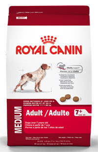 ROYAL CANIN  Medium Adult  7+ - 13.6 kg