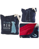 "Bolso de Tela ""I LIKE BIG MUTTS"""