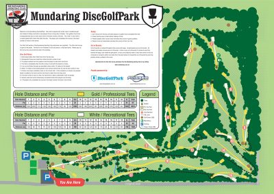 First 18 hole disc golf course for Perth Western Australia!