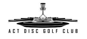 an image of ACT Disc Golf Club logo