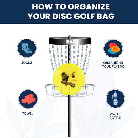 How to Organize Your Disc Golf Bag