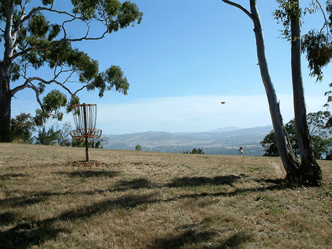 an image of Poimena disc golf park