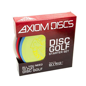 An image showing AXIOM Disc Golf Starter Set