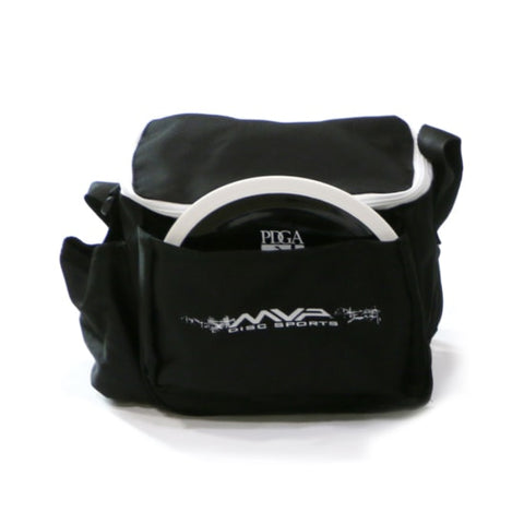 Image of An image showing a black bag. MVP Cell Disc Golf Starter Bag
