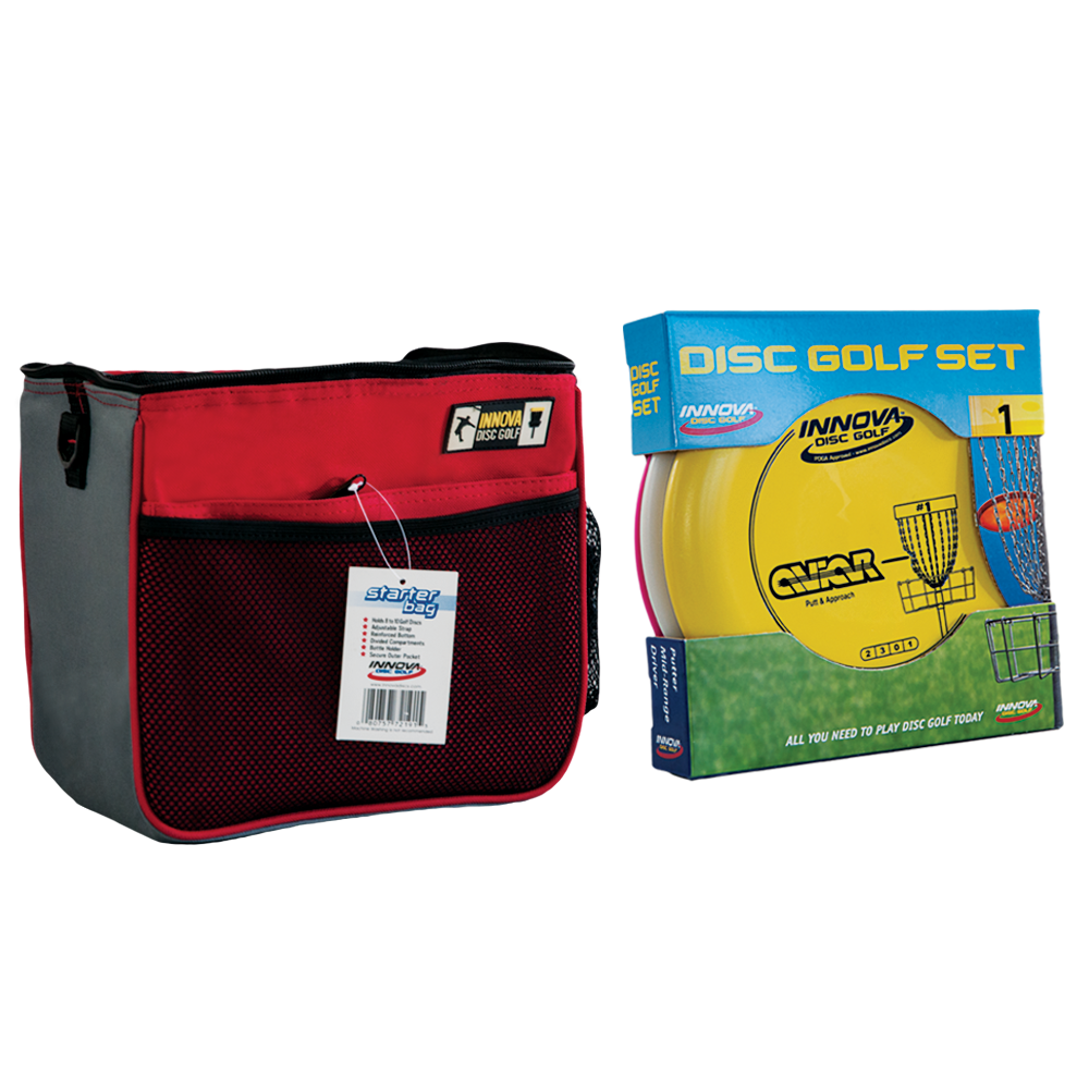 Disc Golf Starter Combo Pack