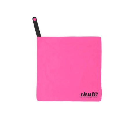 An image showing Dude Tech Towel, color pink
