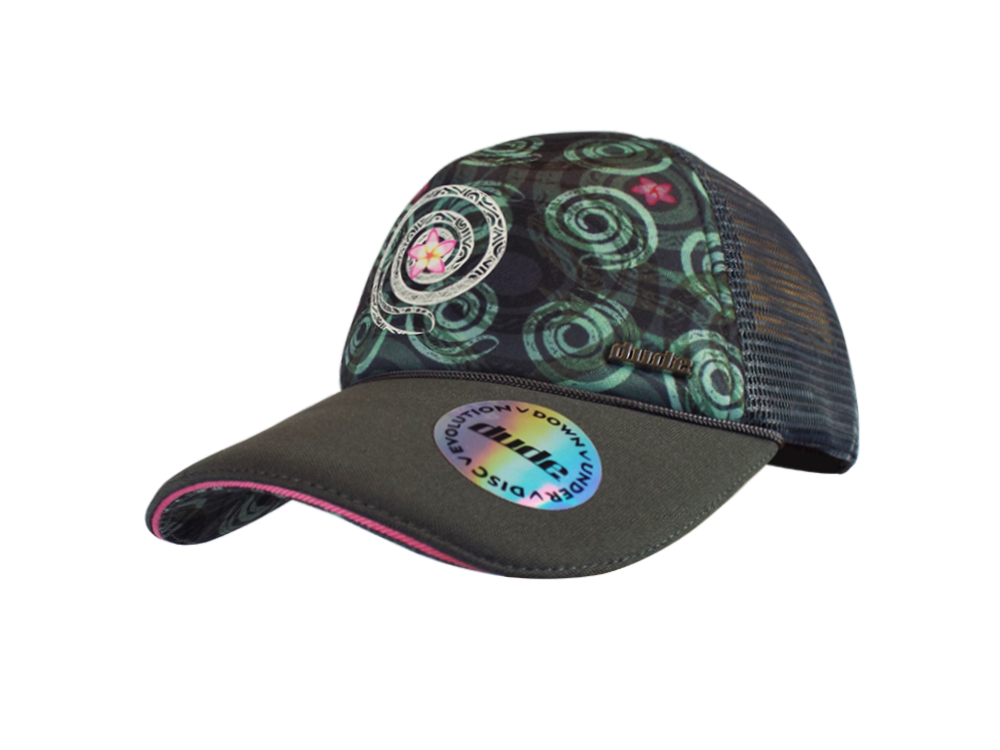 An image showing Jessica Trucker Cap, A cap for disc golf frisbee