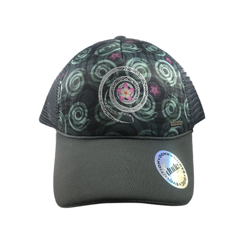 An image showing Jessica Trucker Cap, A cap for disc golf frisbee.