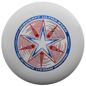 An image showing discraft ultra-star, 175 Gram Ultrastar Ultimate Frisbee. Disc golf for frisbee
