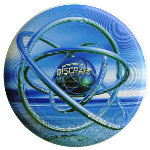 Image of An image showing Supercolor Discraft Ultra-Star, A disc golf for frisbee.