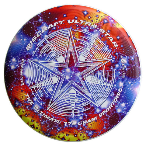 An image showing Supercolor Discraft Ultra-Star, a disc golf for frisbee.