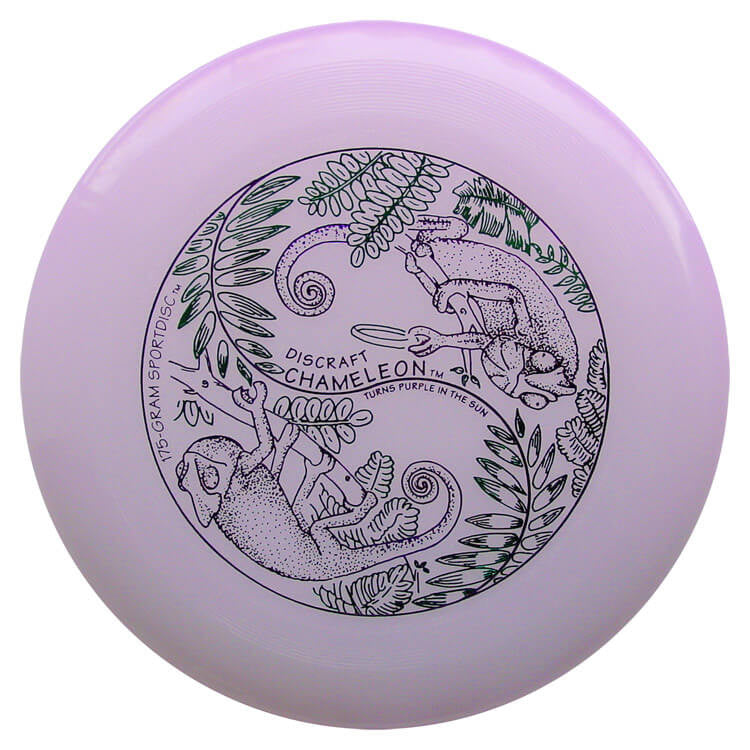 An image showing UV & Glow Discraft Ultra-Star Combo Pack, Purple in color. A disc golf for frisbee.