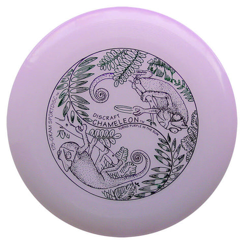 Image of An image showing UV & Glow Discraft Ultra-Star Combo Pack, Purple in color. A disc golf for frisbee.