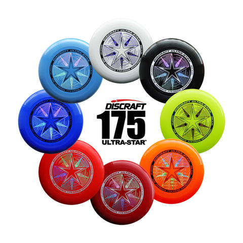 20 Pack Discraft Ultra-Star | Championship 175g Ultrastar Ultimate Frisbee Disc