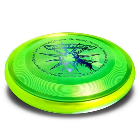 Image of An image showing Superhero Dog Disc, A disc golf for frisbee.