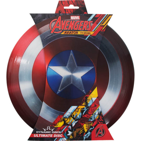 Image of Dynamic Discs Marvel Captain America Aviator