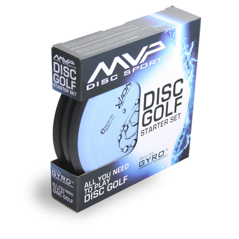 Image of An image showing MVP Disc Golf Starter Set