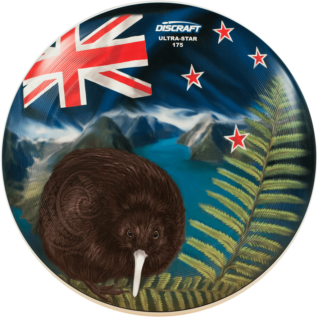 An image showing Kiwi Discraft Ultra-Star with an Australian flag design